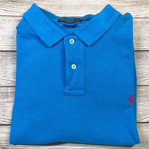 Polo Ralph Lauren XXL Blue Polo Short Sleeve
